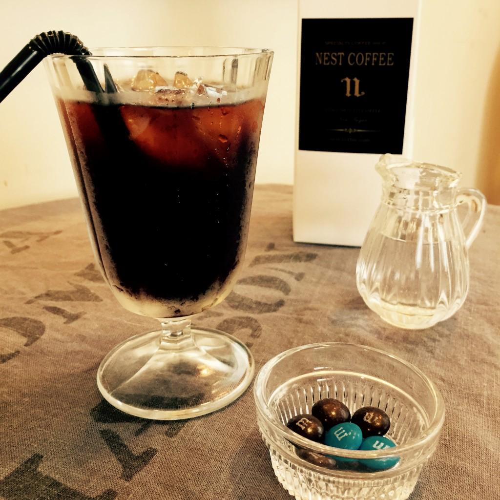 コーヒー商品¥4000でアイスコーヒープレゼント!