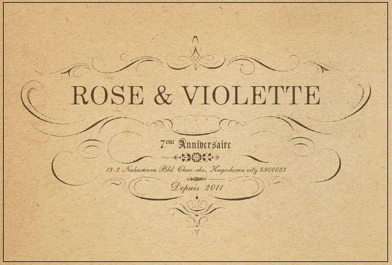 ROSE&VIOLETTE 7周年フェア開催